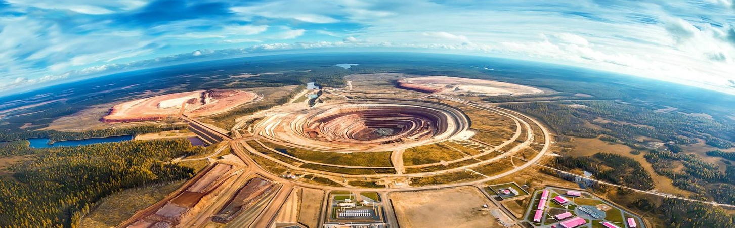 Efficient production tools at Grib diamond mine